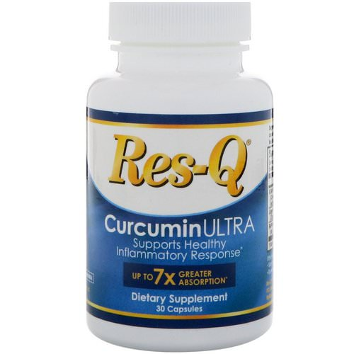 Res-Q, CurcuminULTRA, 30 Capsules Review