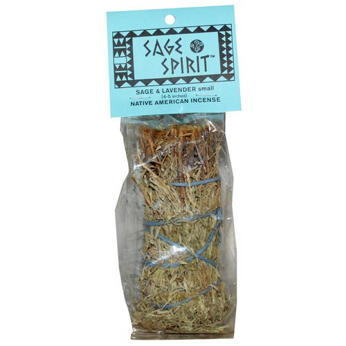 Sage Spirit, Native America Incense, Sage & Lavender, Small (4-5 inches), 1 Smudge Wand Review