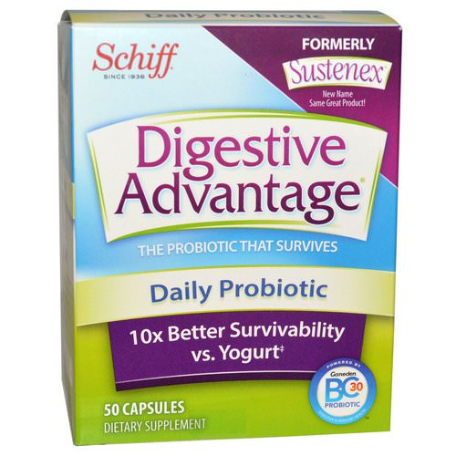 Schiff, Digestive Advantage, Daily Probiotic, 50 Capsules Review