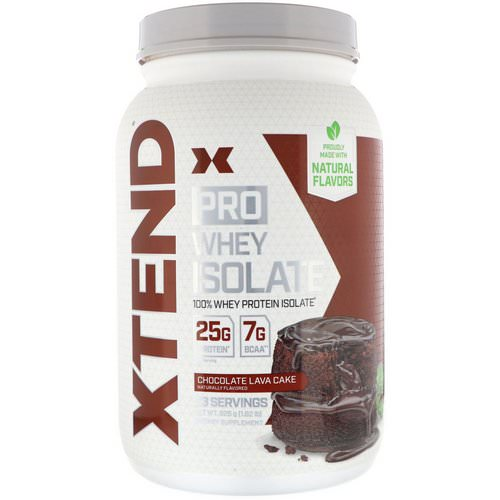 Scivation, Xtend Pro, Whey Isolate, Chocolate Lava Cake, 1.82 lb (826 g) Review