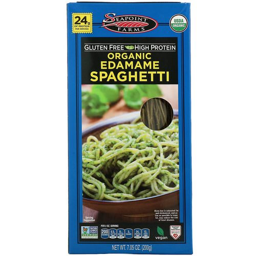 Seapoint Farms, Organic Edamame Spaghetti, 7.05 oz (200 g) Review