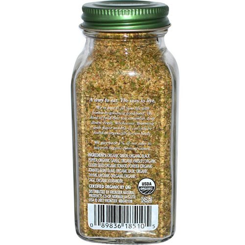 Simply Organic, All-Purpose Seasoning, 2.08 oz (59 g) Review