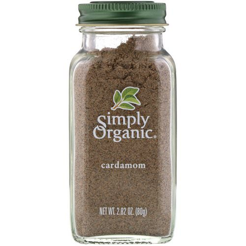 Simply Organic, Cardamom, 2.82 oz (80 g) Review