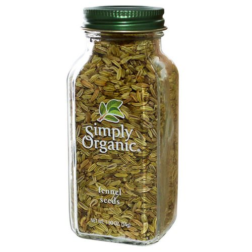 Simply Organic, Fennel Seeds, 1.90 oz (54 g) Review
