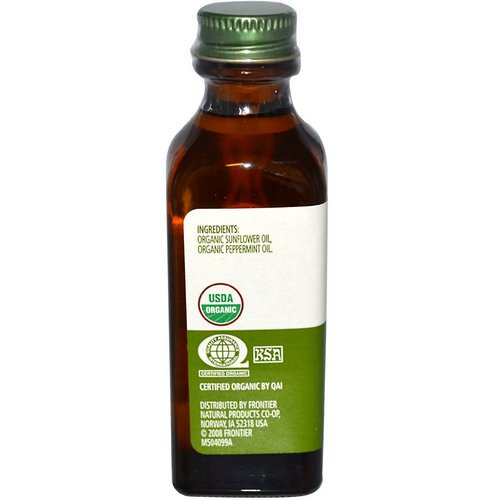 Simply Organic, Peppermint Flavor, 2 fl oz (59 ml) Review