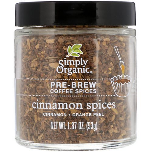 Simply Organic, Pre-Brew Coffee Spice, Cinnamon Spices, 1.87 oz (53 g) Review