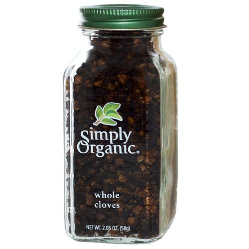 Simply Organic, Whole Cloves, 2.05 oz (58 g) Review