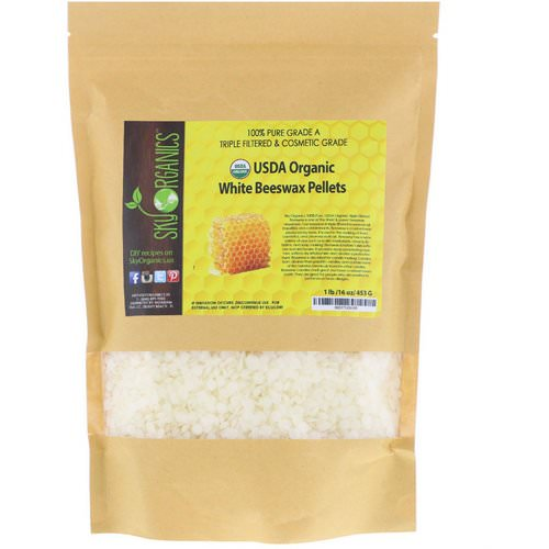 Sky Organics, Organic, White Beeswax Pellets, 16 oz (453 g) Review