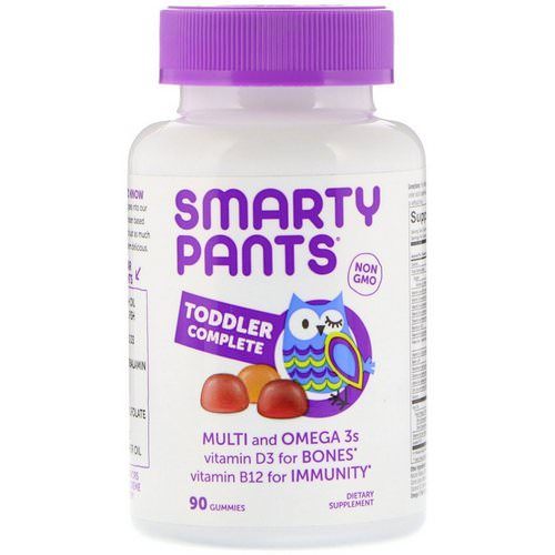 SmartyPants, Toddler Complete, 90 Gummies Review