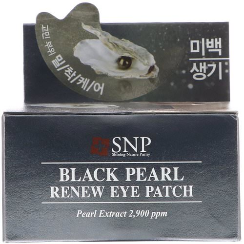 SNP, Black Pearl, Renew Eye Patch, 60 Patches Review