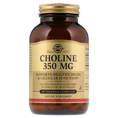 Solgar, Choline, 350 mg, 100 Vegetable Capsule Review