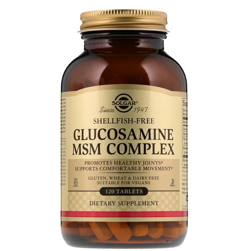 Solgar, Glucosamine MSM Complex, 120 Tablets Review