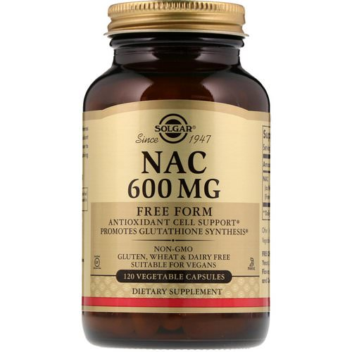 Solgar, NAC, 600 mg, 120 Vegetable Capsules Review