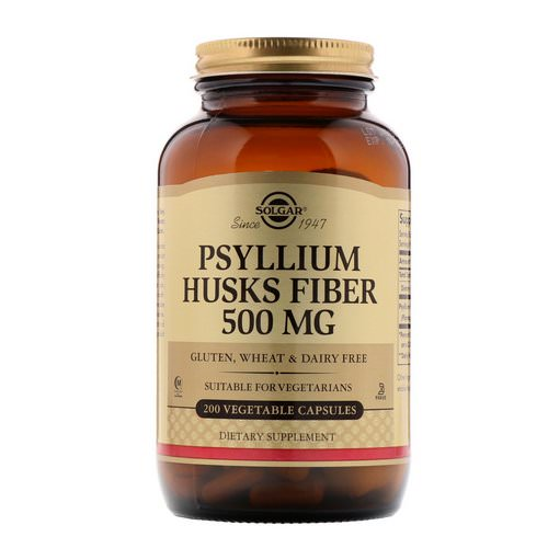 Solgar, Psyllium Husks Fiber, 500 mg, 200 Vegetable Capsules Review
