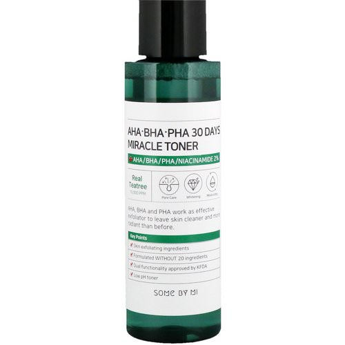 Some By Mi, AHA. BHA. PHA 30 Days Miracle Toner, 150 ml Review