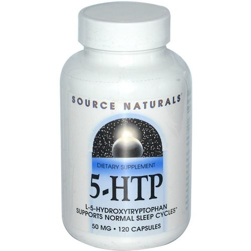 Source Naturals, 5-HTP, 50 mg, 120 Capsules Review