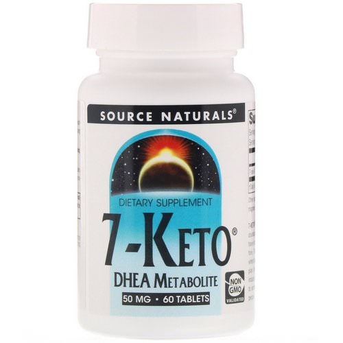 Source Naturals, 7-Keto, DHEA Metabolite, 50 mg, 60 Tablets Review