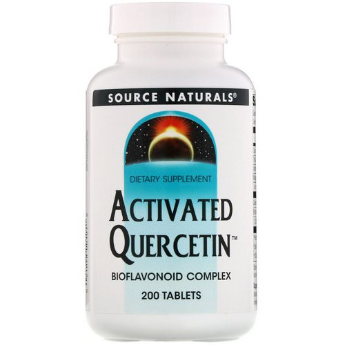 Source Naturals, Activated Quercetin, 200 Tablets Review