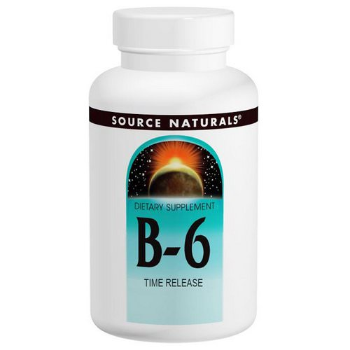 Source Naturals, B-6, 500 mg, 100 Tablets Review