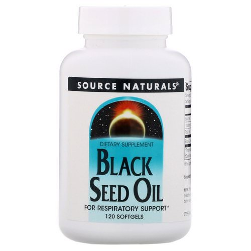 Source Naturals, Black Seed Oil, 120 Softgels Review