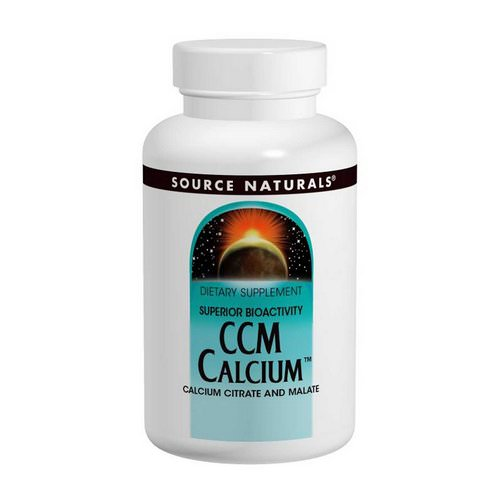 Source Naturals, CCM Calcium, 300 mg, 120 Tablets Review