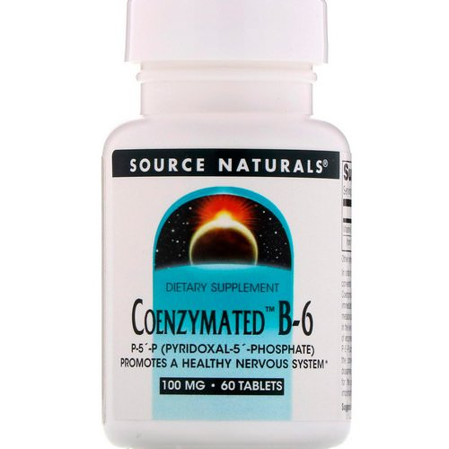 Source Naturals, Coenzymated B-6, 100 mg, 60 Tablets Review