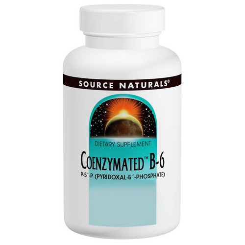 Source Naturals, Coenzymated B-6, 25 mg, 120 Tablets Review