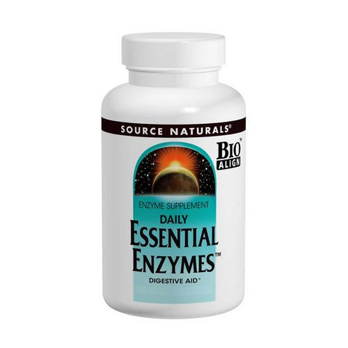 Source Naturals, Daily Essential Enzymes, 500 mg, 240 Capsules Review