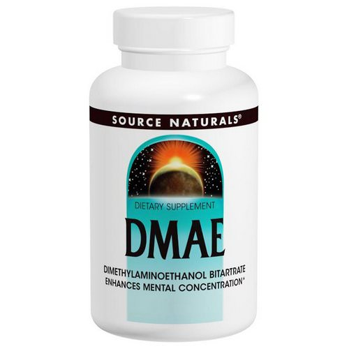 Source Naturals, DMAE, 351 mg, 200 Tablets Review
