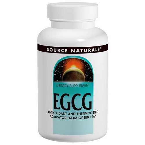 Source Naturals, EGCG, 350 mg, 60 Tablets Review
