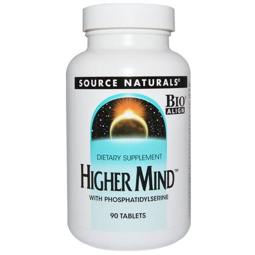 Source Naturals, Higher Mind, 90 Tablets Review