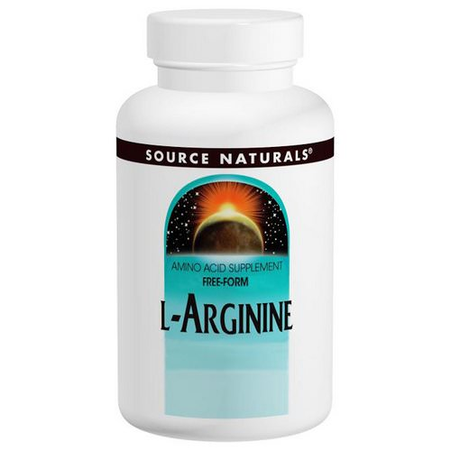 Source Naturals, L-Arginine, Free Form, 1000 mg, 100 Tablets Review