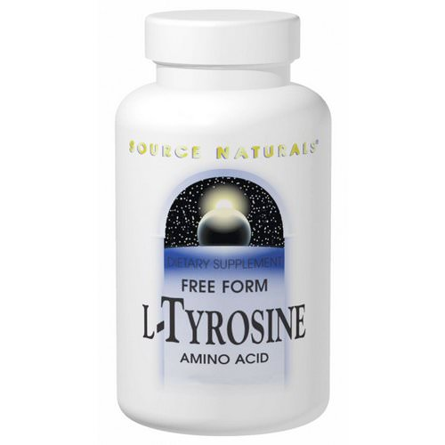 Source Naturals, L-Tyrosine, Free-Form Powder, 3.53 oz (100 g) Review
