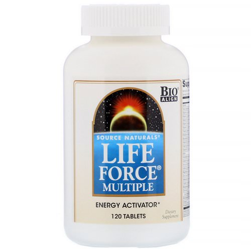 Source Naturals, Life Force Multiple, 120 Tablets Review