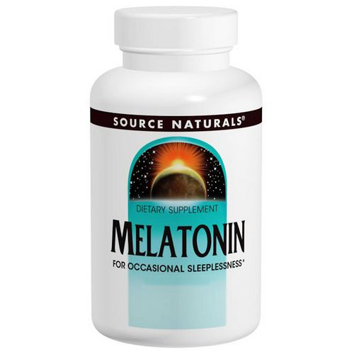 Source Naturals, Melatonin, 3 mg, 240 Tablets Review