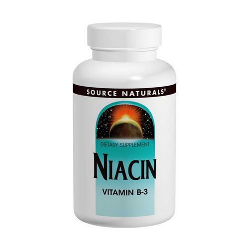Source Naturals, Niacin, 100 mg, 250 Tablets Review