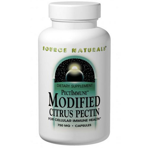 Source Naturals, PectImmune, Modified Citrus Pectin, 750 mg, 120 Capsules Review