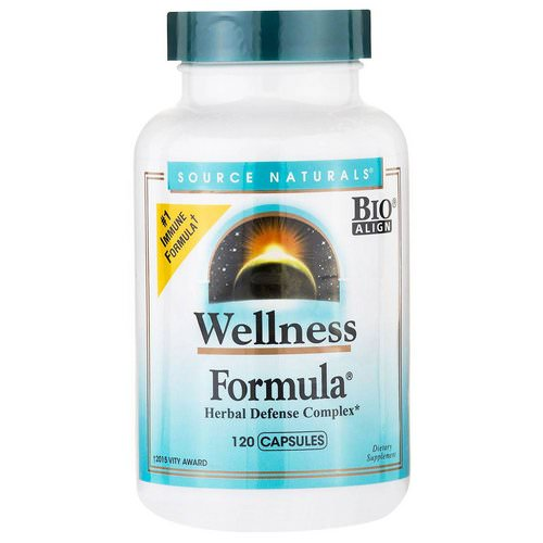 Source Naturals, Wellness Formula, Herbal Defense Complex, 120 Capsules Review
