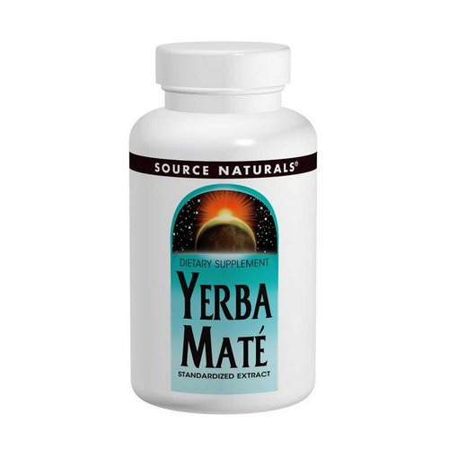 Source Naturals, Yerba Mate, 600 mg, 90 Tablets Review