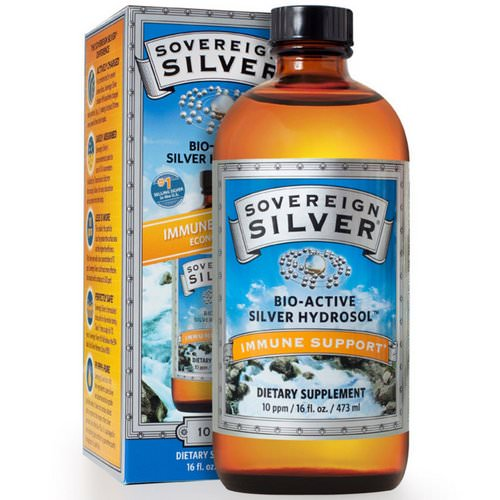 Sovereign Silver, Bio-Active Silver Hydrosol, 10 PPM, 16 fl oz (473 ml) Review