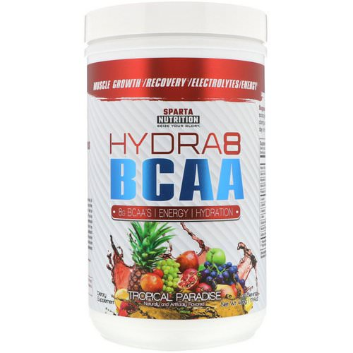 Sparta Nutrition, Hydra8 BCAA, Tropical Paradise, 17.14 oz (486 g) Review