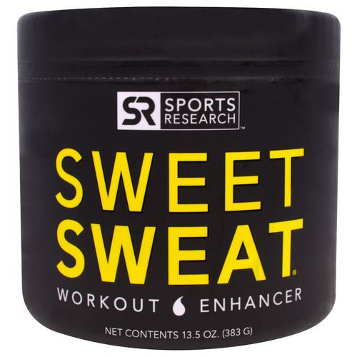 Sports Research, Sweet Sweat Workout Enhancer, 13.5 oz (383 g) Review