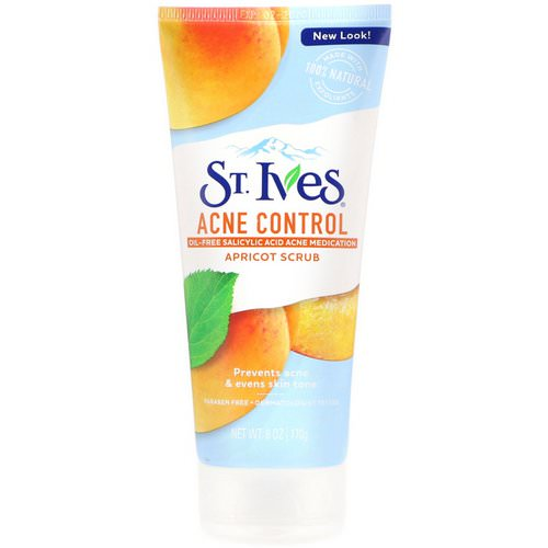 St. Ives, Apricot Scrub, Acne Control, 6 oz (170 g) Review