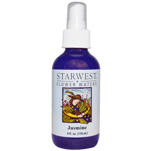 Starwest Botanicals, Flower Waters, Jasmine, 4 fl oz (118 ml) Review