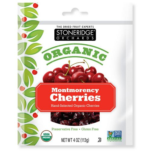 Stoneridge Orchards, Organic Montmorency Cherries, 4 oz (113 g) Review