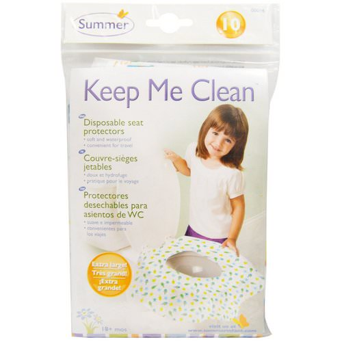 Summer Infant, Keep Me Clean, Disposable Seat Protectors, 10 Seat Protectors Review