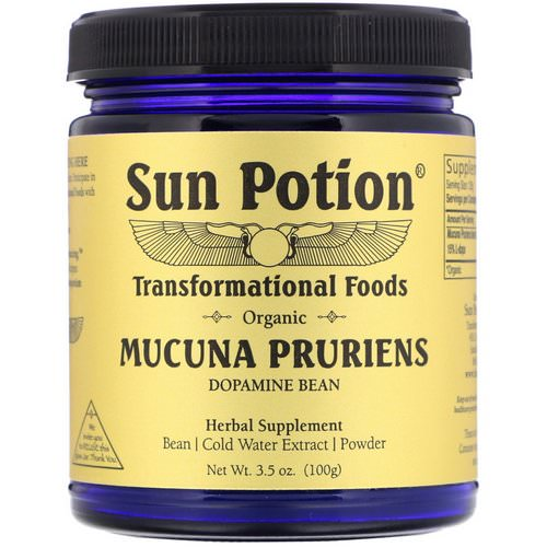 Sun Potion, Organic Mucuna Pruriens Powder, 3.5 oz (100 g) Review