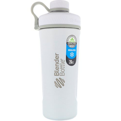 Blender Bottle, Blender Bottle Radian, Insulated Stainless Steel, Matte White, 26 oz Review