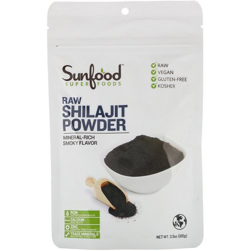 Sunfood, RAW Shilajit Powder, 3.5 oz (100 g) Review