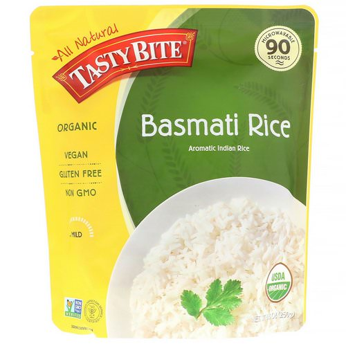 Tasty Bite, Organic, Basmati Rice, 8.8 oz (250 g) Review